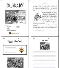 all worksheets free printable columbus day worksheets free