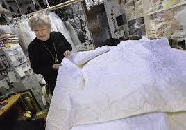 wedding dress quilt loveland woman turns bridal gowns into keepsake quilts loveland