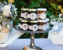 honey jar wedding favors personalized clover honey garden set of 12 kate aspen