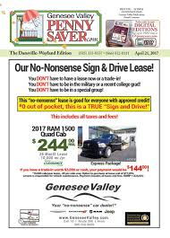 the genesee valley penny saver dansville wayland edition 4 21 17