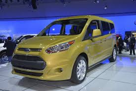 ford u0027s spacious 2014 transit connect wagon shows its goods in la