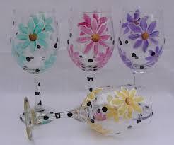 beautiful wine glasses beautiful hand painted wine glasses paint inspirationpaint inspiration