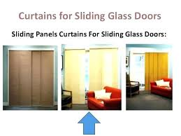Curtains On Sliding Glass Doors Curtains For Sliding Patio Doors S Window Treatments For Sliding