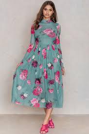 midi dress mesh ls midi dress buy online na kd