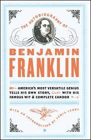 the autobiography of benjamin franklin book by benjamin franklin