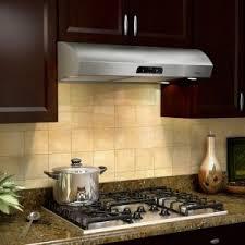 lowes under cabinet range hood kitchen shop broan undercabinet range hood stainless steel black