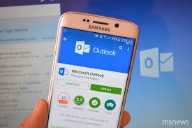 android outlook app microsoft outlook app updated for android devices with support for
