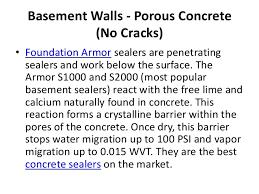 Best Basement Wall Sealer by Leaking Basement Walls