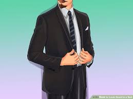 men s how to look good in a suit 7 steps with pictures wikihow