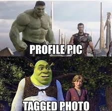 Profile Picture Memes - profile pic vs tagged photo funny memes daily lol pics
