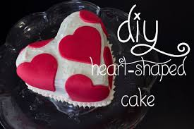14 Days Of Valentine Day 4 Heart Shaped Cake Youtube