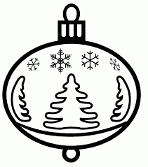 ornaments coloring pages printable my free printable