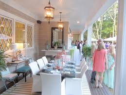 Hamptons Style Outdoor Furniture - hampton designer showhouse a mere life