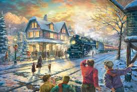 Thomas The Train Wall Decor by All Aboard For Christmas U2013 Limited Edition Art The Thomas