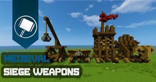 siege minecraft siege weapons tutorial minecraft project