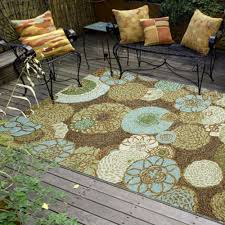 Rugs For Outdoors Shop Ravella Disco Driftwood Outdoor Rug Liora Manne By