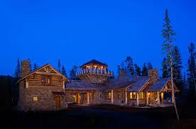 big sky log cabin floor plan foxtail residence big sky log cabin exterior teton heritage builders