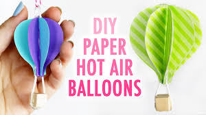 How To Make Paper Air Balloon Lantern - diy paper air balloons hgtv handmade