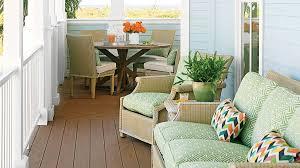 home porch 65 beachy porches and patios coastal living