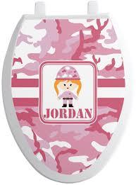 Pink Camo Bathroom Pink Toilet Seat Best 25 Pink Toilet Ideas On Pinterest Pink Tiles
