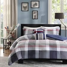 5 Piece Duvet Set Intelligent Design Harper Plaid 5 Piece Comforter Set Free