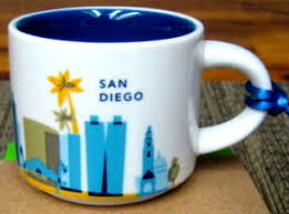 mug ornament you are here ornament san diego starbucks mugs