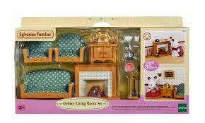 Sylvanian Families Luxury Living Room Set  Hamleys For Cheap - Sylvanian families living room set