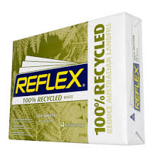 reflex 100 recycled 80gsm a4 copy paper 500 sheet ream officeworks