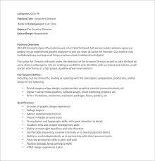 layout artist job specification art director job description template 8 free word pdf format