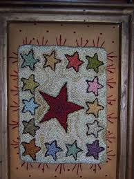 Rug With Stars 273 Best Punch Needle Images On Pinterest Punch Needle Patterns