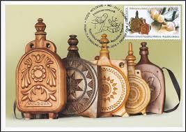 Wooden Flasks Moldova Maximum Cards 974 Mc4