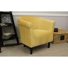 Beige Club Chair Yellow Accent Chairs You U0027ll Love Wayfair