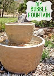 Diy Patio Fountain Diy Garden Fountain The Frugal Female