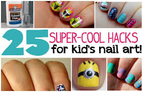 25 kid u0027s nail art hacks totally the bomb com
