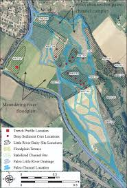 Tennessee River Map An Integrative Archaeological And Geomorphological Approach