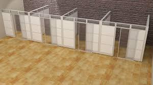 laminate office demountable walls room dividers cubicle panels