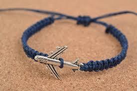 thread bracelet with beads images Madeheart gt handmade thin dark blue cotton thread wrist friendship jpg