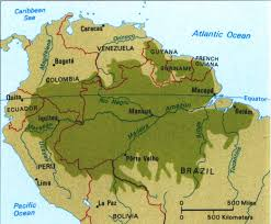 south america map rainforest the basics disappearing