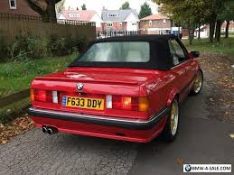 bmw e30 325i convertible for sale 1988 sports convertible 325 for sale in united kingdom
