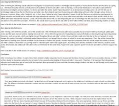 Scholarly Essay Examples Working Examples