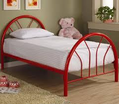 Kid S Bedroom by Brooklyn Twin Red Metal Bed Kids U0027 Beds