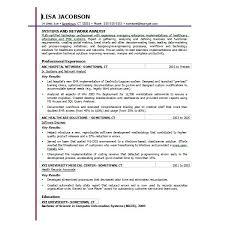 excel resume template template design