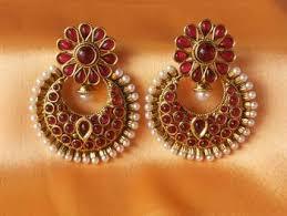 kempu earrings buy gorgeous kempu earrings online
