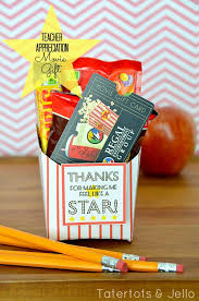 teacher gift movie card gift idea free fry