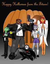 Teen Titans Halloween Costumes Thomas Bruce Wiggins Artwork