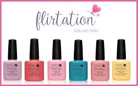 cnd shellac nail gel flirtation kit 7 3 ml pack of 6 amazon co