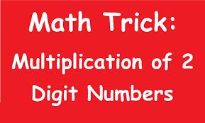 digit math shocking math trick multiplication of 2 digit numbers