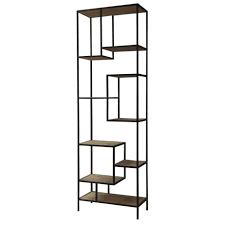 bookshelves wooden good wooden material l shaped oak wall shelf