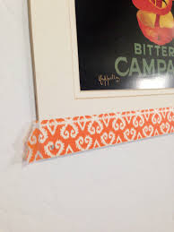 Halloween Washi Tape by Tutorial Tuesday How To Create A Faux Frame Using Washi Tape