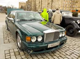 Moscow April 21 Retro Car Bentley On Rally Of Classical Cars